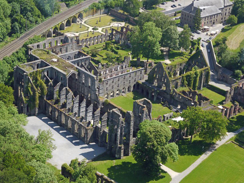 villers-abbey-wallonia-belgium