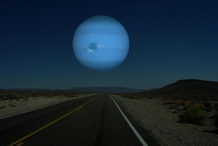 Neptune instead of the Moon