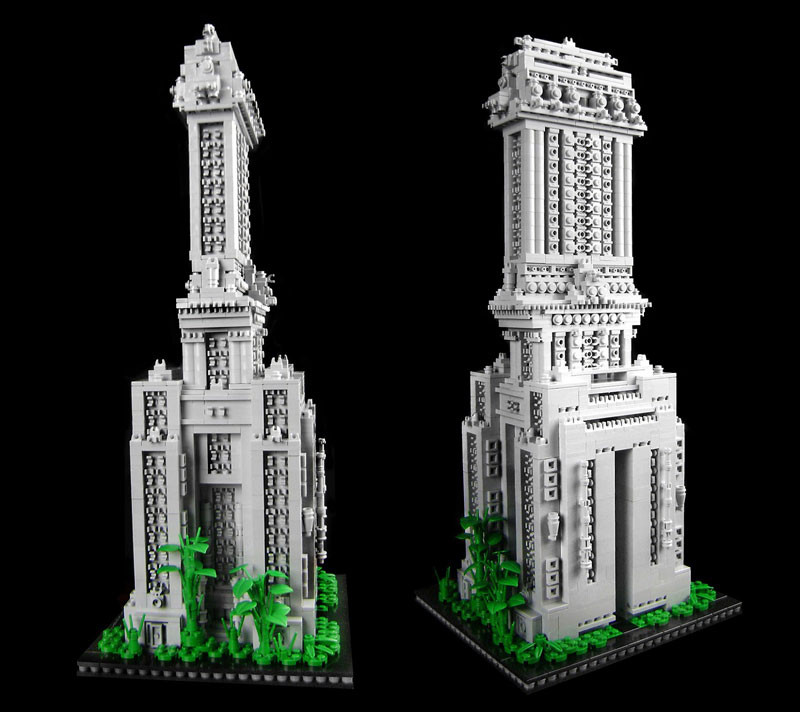 DIY BUILDING KIT: Dawn Residential Tower - approx 3000 pieces ($320)