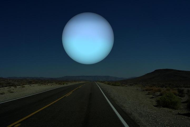 Uranus instead of the Moon
