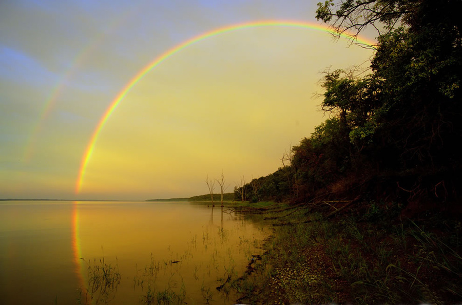 """""""The way I see it, if you want the rainbow, you gotta put up with the rain,"""" ~ by Dolly Parton. Photo #14 by Patrick Emerson"""