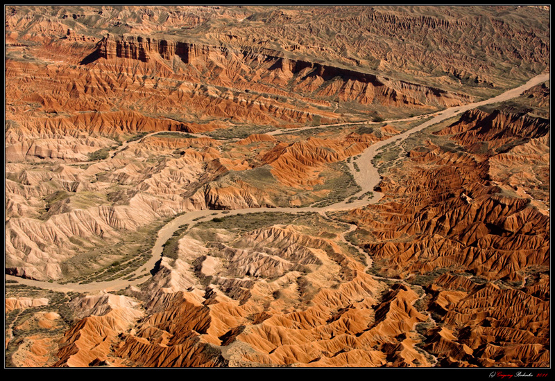 """Kazakhstan's """"Valley of Death"""" - the canyons in the lower reaches of the river Charyn."""