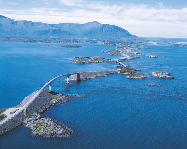 Atlantic-Norway Ocean Highway.