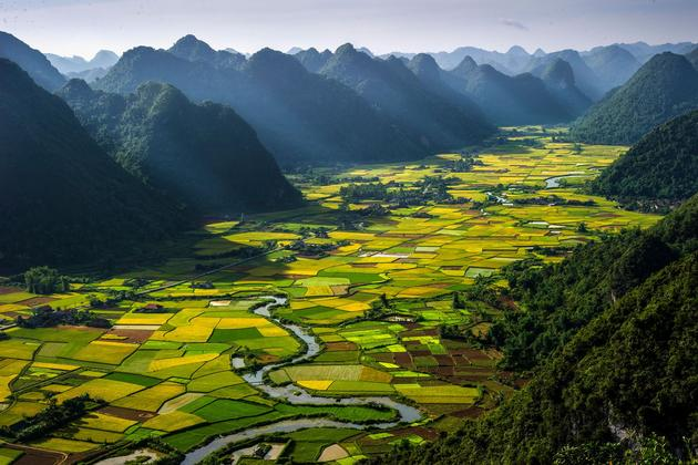 Rice Plots in the Bac Son Valley, Vietnam. Photo by Hai Thinh Hoang.