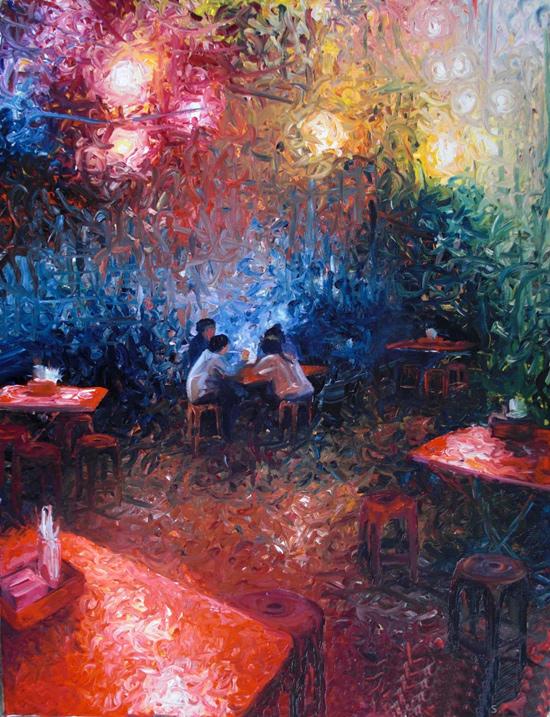 Iris-Scott---American-Modern-Impressionist-painter---Tutt'Art@-(48)