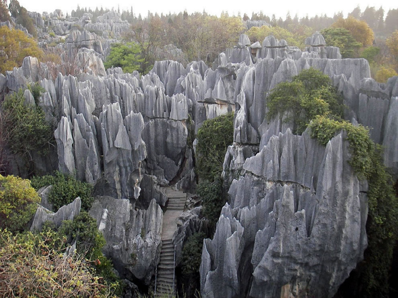 Shilin-Stone-forest-outside-Kunming