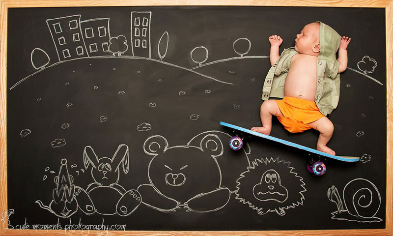 chalkboard-advenutres-of-a-newborn-baby-4