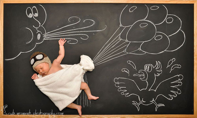 chalkboard-advenutres-of-a-newborn-baby-7