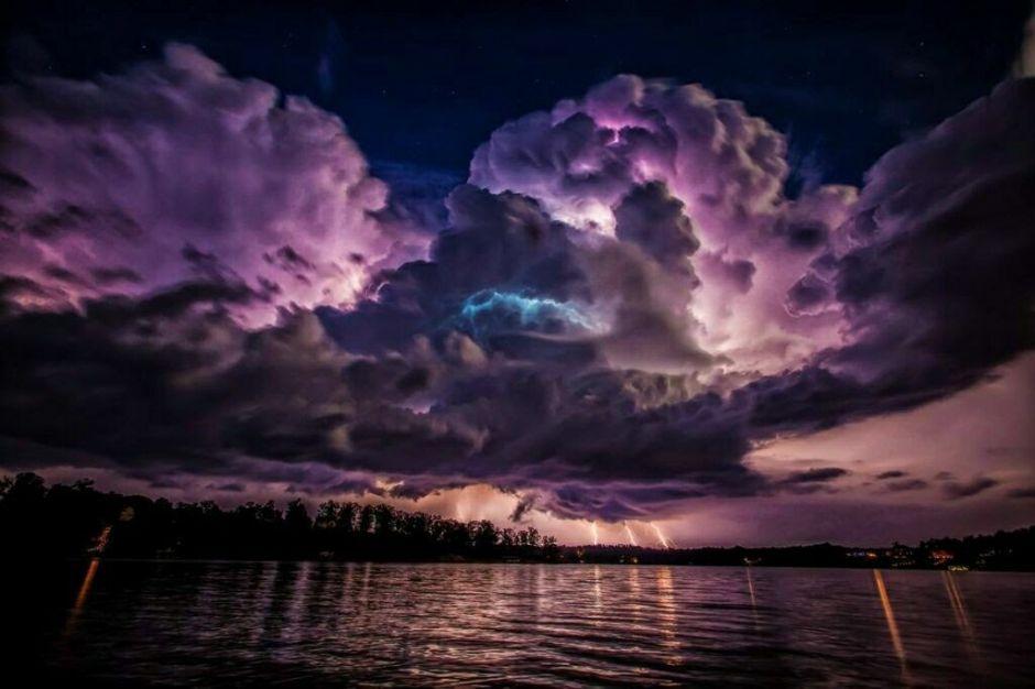 коллекция потрясающих облаков 8