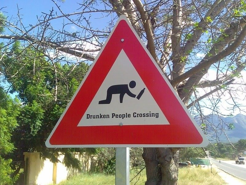 Funny Road Signs In The Republic Of South Africa