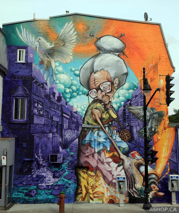 The best examples of street art in 2013 memolition for Examples of mural painting