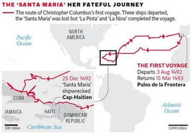 Columbus's-flagship-the-Santa-Maria-may-have-been-found-3-640x448