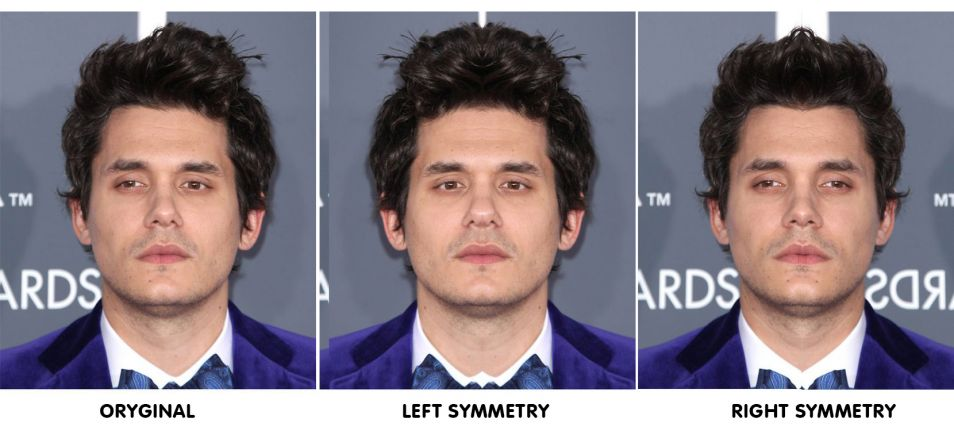 Symmetrical Celebrity Faces - Gallery | eBaum's World