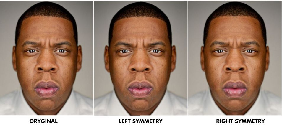 Symmetrical Celebrity Faces 3 - Gallery | eBaum's World
