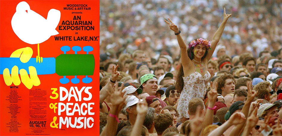 a brief history of the woodstock music and art festival of 1969