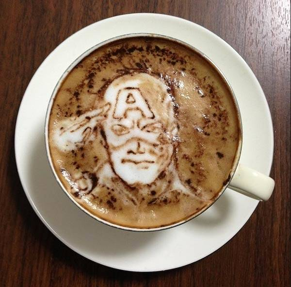 Latte Art That Is Far Too Beautiful To Drink