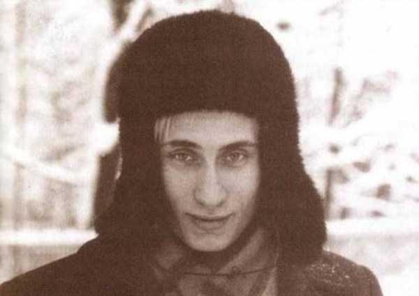 1980s Vladimir Putin Smiling Kindly Oldschoolcool