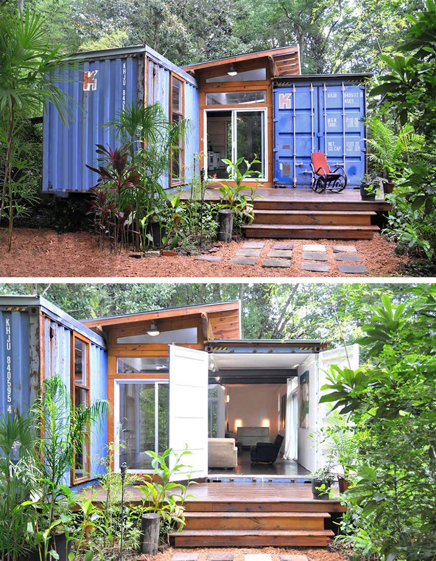 Fine your space in these small and efficient homes for Small efficient homes