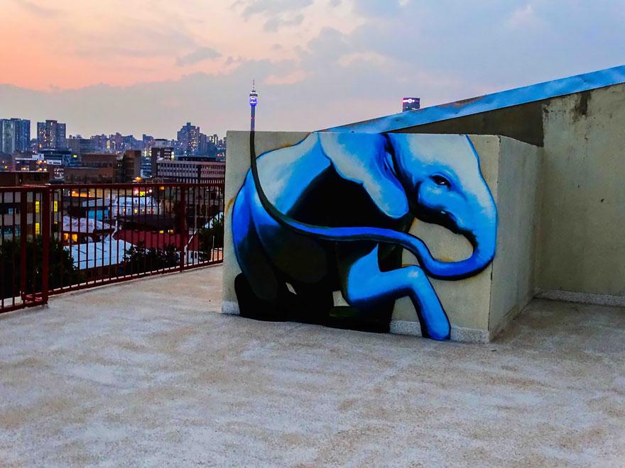 interactive-elephant-street-art-falco-one-south-africa-6