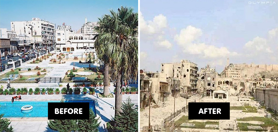 Before-And-After Photos Reveal What War Did To The Largest ...