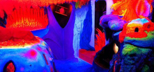 Phosphorescent Sculpture