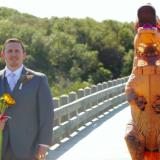 Tom Gardner and his bride Elizabeth Rex Hundley