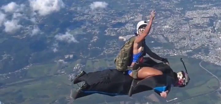 Rodeo Skydive Snapshot